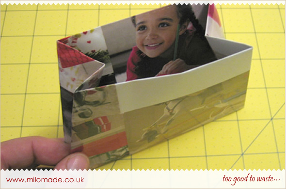 Magazine Gift Bag - A Tutorial from Milomade