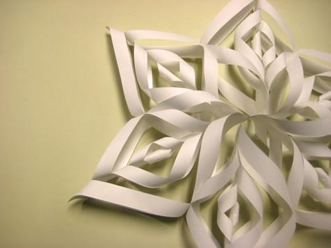 Festive decorations milomade beautiful paper snowflakes mightylinksfo