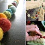 Felted Garlands