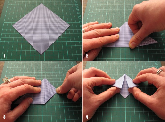 How To Make A Paper Bookmark : Paper crafts for kids recycled origami bookmarks tutorial