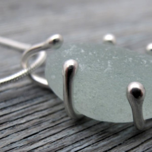Sea Glass Commission - Sea Glass Pendant