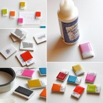 DIY Pantone Chip Magnets