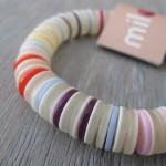Milomade Elasticated Button Bracelet
