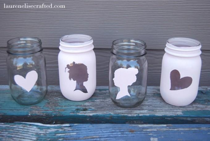 decorative jars how to decorate a jar lid