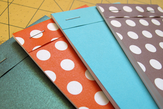 paper crafts: pocket notebooks tutorial