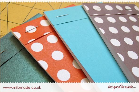 Pocket Notebook Tutorial from Milomade