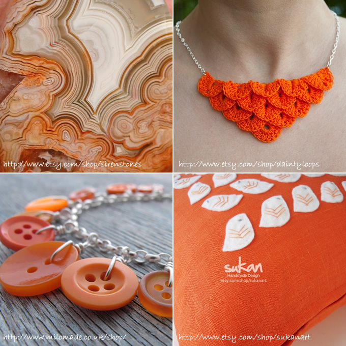 Theme Thursday - Juicy Orange