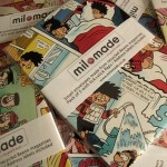 Envelopes made from recycled Beano Annuals - Packs of 5