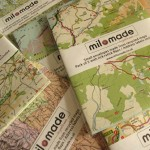 Envelopes made from recycled maps - Packs of 5