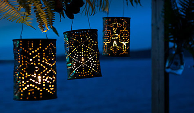 MaggieMakes - Coffee Can Lanterns