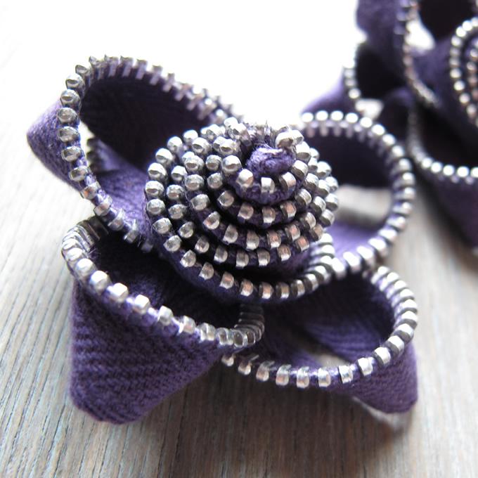 Zippy Flower Brooch