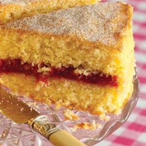 Rhubarb Pudding Cake