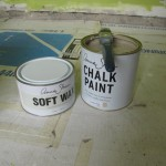 Annie Sloan paint and wax