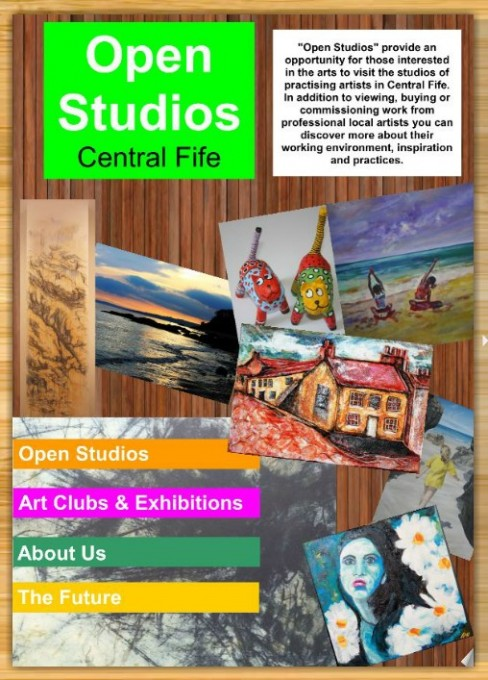 Central Fife Open Studios 2012 Brochure