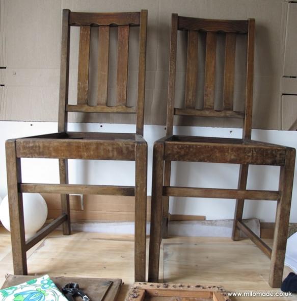 Work In Progress - Chair Restoration