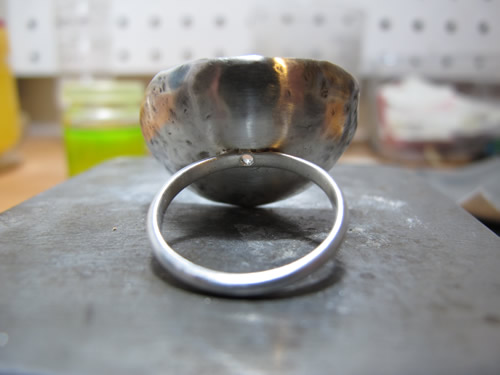 New work coming to life - Milomade Spoon Ring