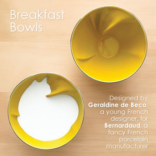 Theme Thursday - A little obsessed with yellow - Breakfast Bowls by Geraldine de Beco