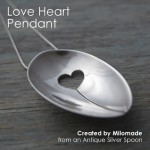 Theme Thursday - Motherly Love - Love Heart Pendant