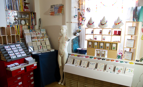 The Milomade studio turns into a shop for Round The Horn 2013