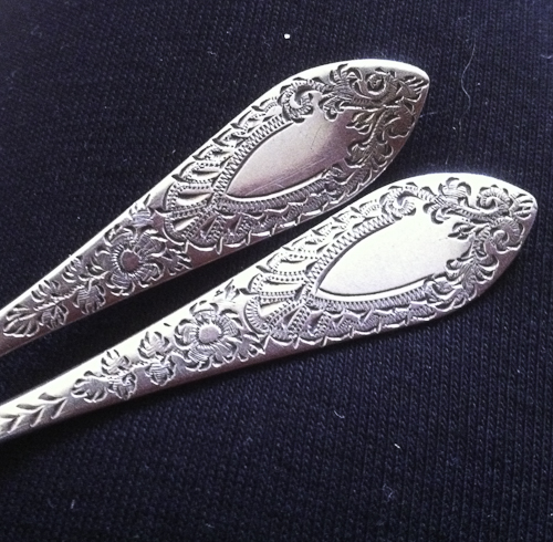 Brightcut Antique Silverware Spoons
