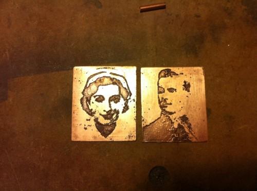 Locket Making - Metal Etching in Copper