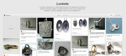 Lockets on Pinterest