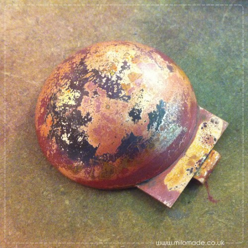 Copper Locket - Soldered