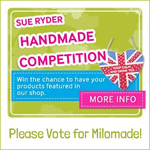 Vote for Milomade in the Sue Ryder Handmade Competition