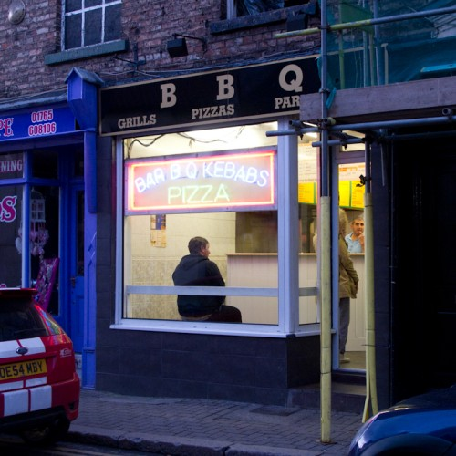 OMG the kebab shop is still there!