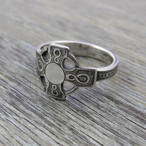 Milomade Antique Silverware Ring