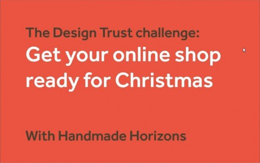 The Design Trust Webinar - Get your online shop ready for Christmas