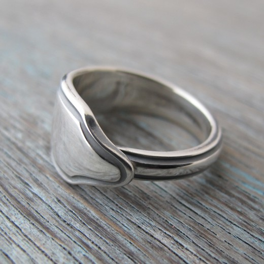 Milomade Antique Silverware Ring - Aalish - Get 20% Off Today
