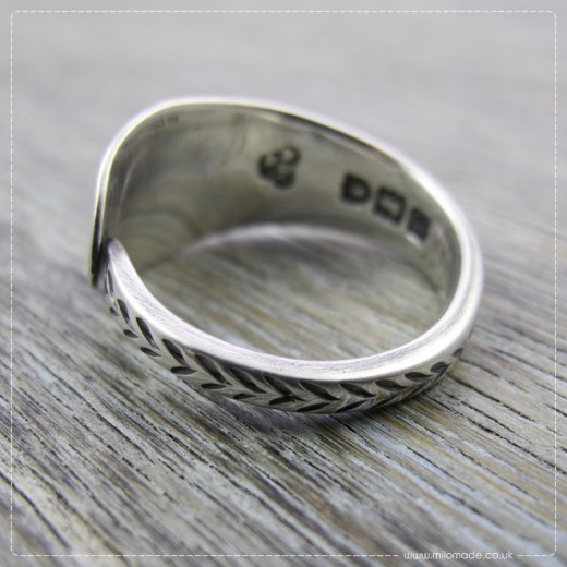 Milomade Antique Silverware Rings - Blaithin - Get 20% Off Today