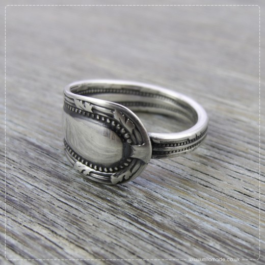Milomade Antique Silverware Ring - Bogha - Get 20% Off Today!