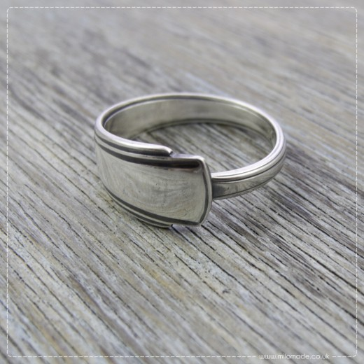 Milomade Antique Silverware Ring - Saoirse - Get 20% Off Today!
