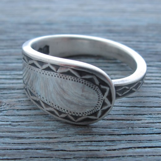 Milomade Antique Silverware Ring - Belanus - Get 20% Off Today!