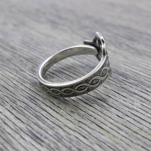 Milomade Antique Silverware Ring - Cheilteach - Get 20% Off Today!