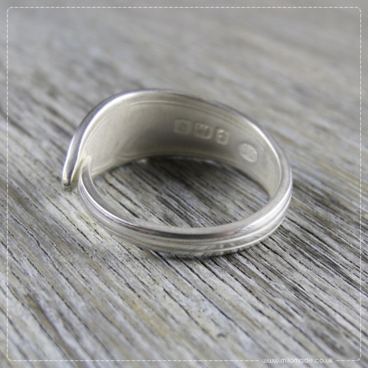 Milomade Antique Silverware Ring - Aoife - Get 20% Off Today!