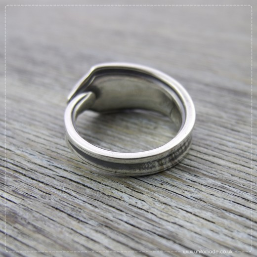 Milomade Antique Silverware Ring - Bearach - Get 20% Off Today!