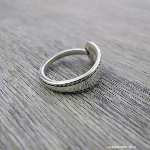 Milomade Antique Silverware Ring - Cleite - Get 20% Off Today!