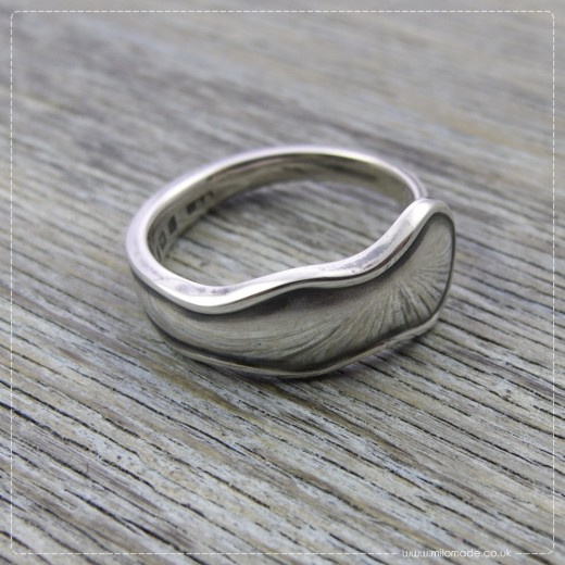 Milomade Antique Silverware Ring - Cuar - Get 20% Off Today!