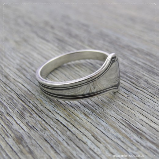 Milomade Antique Silverware Ring - Deco - Get 20% Off Today!