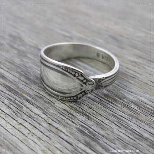 Milomade Antique Silverware Ring - Oilell - Get 20% Off Today!