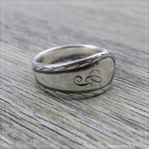 Milomade Antique Silverware Ring - Geila - Get 20% Off Today!