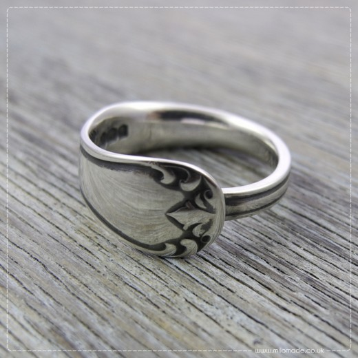 Milomade Antique Silverware Ring - Gliún - Get 20% Off Today!