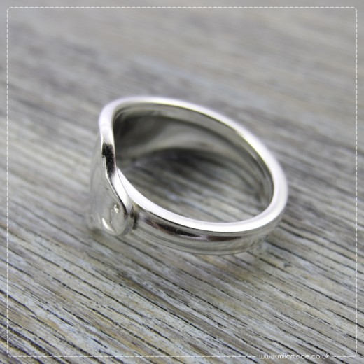 Milomade Antique Silverware Ring - Labhaoise - Get 20% Off Today!