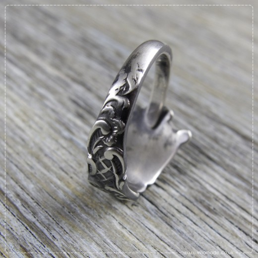 Milomade Antique Silverware Ring - Laoidheach - Get 20% Off Today!