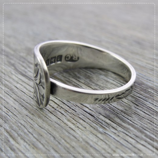 Milomade Antique Silverware Ring - Aine - Get 20% Off Today!
