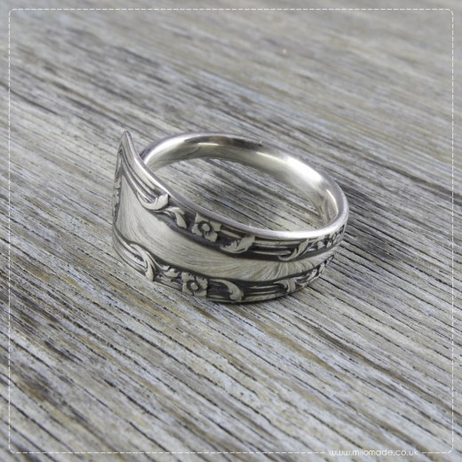 Milomade Antique Silverware Ring - Orlaith - Get 20% Off Today!