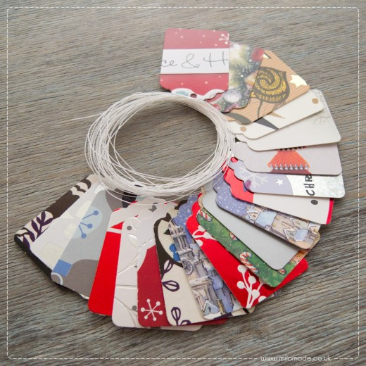 Milomade Offer of the Month - Novembe 2014 - Free Gift Tags with every order!